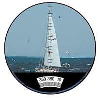 namorni dalekohled kompas
