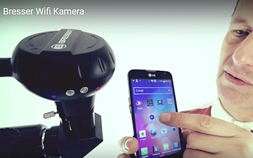 WiFi kamera pro dalekohledy - Bresser